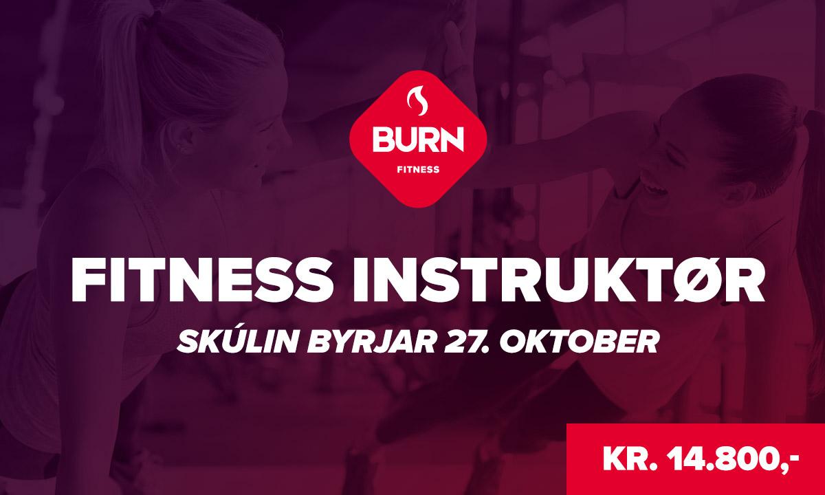 Fitness Instruktør Skúlin